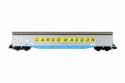Ferry Wagon Cargowaggon  33 80 279 7543-6 Yellow Stripe
