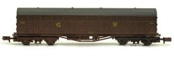 GWR Siphon H Wagon 1432 GWR Brown Weathered