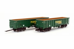 MJA Freightliner Heavy Haul Box Van Twin 502045 & 046