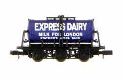 6 Wheel Milk Tanker Express Dairies Milk For London