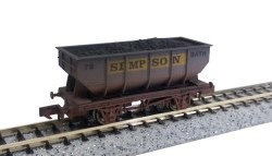 21T Hopper Simpson 73 Weathered