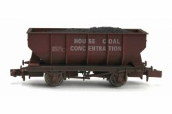 21T Hopper House Coal Concentration B429912 Weathered