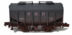 Bulk Grain Hopper SGD 18 Weathered
