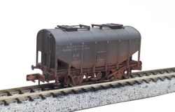 Bulk Grain Hopper Avonmouth 42317 Weathered