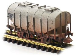 Bulk Grain Hopper BR Grey B885310 Weathered