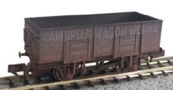 20T Steel Mineral Cambrian Wagon Works Weathered