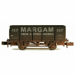 20T Steel Mineral Wagon Margam Weathered