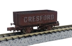 7 Plank Wagon Wrexham 226 Weathered