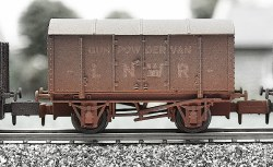 LNWR Gunpowder Van Weathered