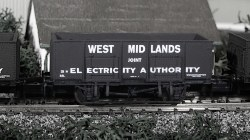 West Midlands Electricity 20T Steel Mineral Wagon
