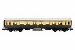 Collett Coach GWR Chocolate/Cream Composite 7032
