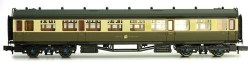 Collett Coach GWR Crest Chocolate/Cream 3rd Class 1096