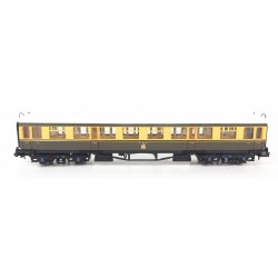 Collett Coach GWR Crest Chocolate & Cream 3rd 1088