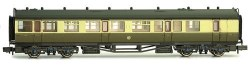Collett Coach GWR S/B Chocolate/Cream Brake Composite 6532