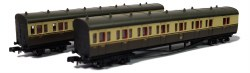 B Set Coach Pack GWR Shirtbutton Chocolate & Cream 6451 & 6452