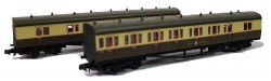 B Set Coach Pack Great Crest Western Chocolate & Cream 6462 & 6463
