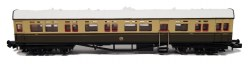 Autocoach GWR Shirtbutton Chocolate & Cream 196