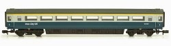 Mk3 Blue Grey 1st Class No E42127 HST Hauled without Buffers