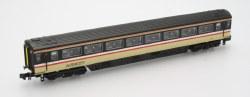 Mk3 InterCity Swallow 2nd Class No 12037 Locomotive Hauled with Buffers