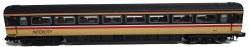 MK 3 Intercity Swallow 2nd Class 42125  HST