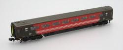 Mk3 Virgin 2nd Class No 12135 Locomotive Hauled with Buffers