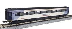 MK 3 East Coast 2nd Class 42215  HST