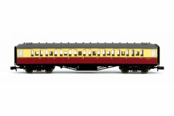 Gresley BR Carmine & Cream 2nd Class E12283E LBR