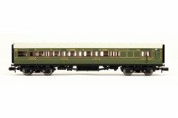 Maunsell Coach SR Brake Composite Lined Green 6565