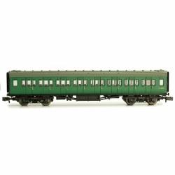 Maunsell Coach BR 3rd Class SR Green 810