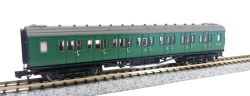 Maunsell Coach BR Composite SR Green 5149