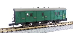 Maunsell Coach BR Brake Van SR Green 750