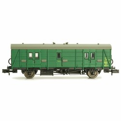 Maunsell Coach BR Brake Van SR Green 766