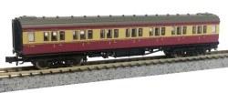 Maunsell Coach BR 1st Class Crimson/Cream 7669