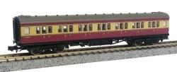 Maunsell Coach BR 1st Class Crimson/Cream 7670