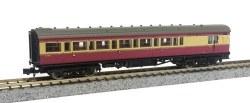 Maunsell Coach BR Brake 3rd Class Crimson/Cream 4481