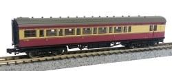 Maunsell Coach BR Brake 3rd Class Crimson/Cream 4482