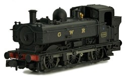 Pannier 9791 GWR Black Lettered Later Cab