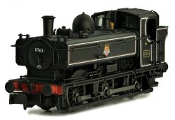 Pannier 8763 BR Lined Black Early Crest Later Cab