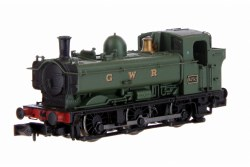 Pannier 57xx 6752 GWR Green  lettered GWR Later Cab