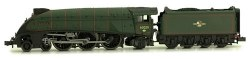 A4 Class 4-6-2 60029 Woodcock BR Lined Green Late Crest