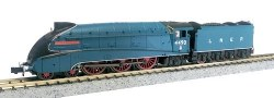 A4 Valanced 4490 Empire of India LNER Garter Blue