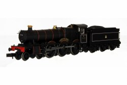 Hall - Moreton Hall BR Lined Black Early Crest 5908