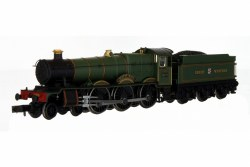 Hall - Sketty Hall Great Western Lined Green 4970 DCC