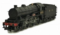 B17 Class 4-6-0 2864 Liverpool LNER Wartime Black