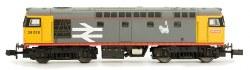 Class 26 26037 BR Railfreight Grey