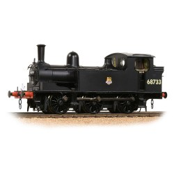 NER E1 (J72) Tank 68733 BR Black (Early Emblem)