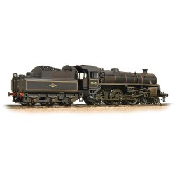 BR Standard Class 4MT 75035 BR Lined Black L/Crest Weathered