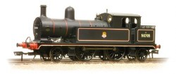 L&YR 2-4-2 Tank 50705 BR Lined Black Early Emblem