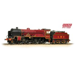 LMS 5XP 'Patriot' 5551 'The Unknown Warrior' LMS Lined Crimson - Sound Fitted