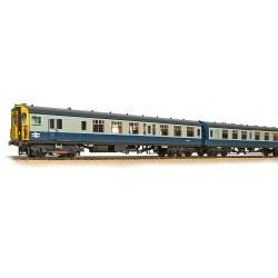 Class 411 4-CEP 4-Car EMU 7106 BR Blue & Grey - Weathered